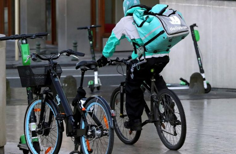 Trade union calls for Deliveroo UK riders strike to highlight IPO risks