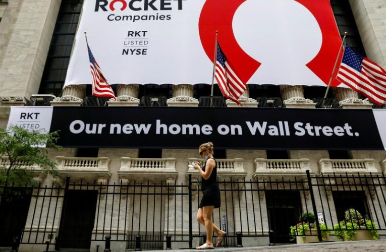 Rocket leads mortgage sector surge in GameStop-style short squeeze
