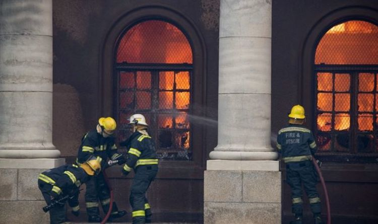 Cape Town fire: UCT library ruined as Devil's Peak ablaze – latest updates