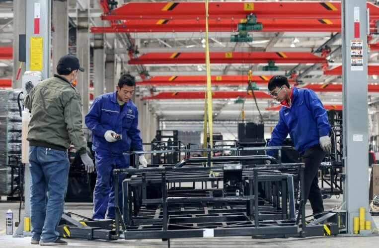 China's March industrial profits jump 92.3% from year ago