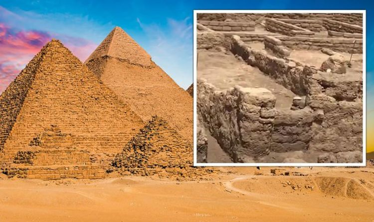 Egypt: Inside 'perfectly preserved' 3,000-year-old 'golden city' with stunning first video