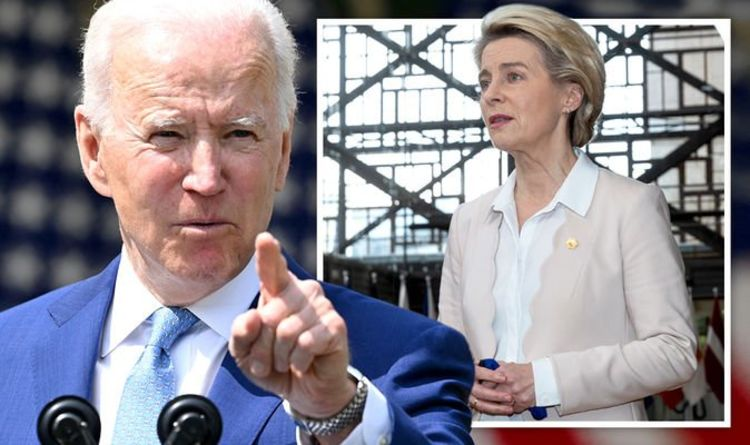 Joe Biden puts EU in crosshairs: Brussels pleads with US over 'Buy American' scheme