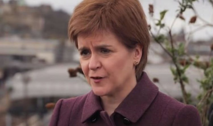 Sturgeon lashes out at BBC host as she scrambles to defend SNP's border plans