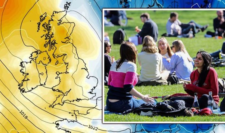 UK hot weather forecast: Freezing -3C to be crushed as temperatures soar 20C in a DAY