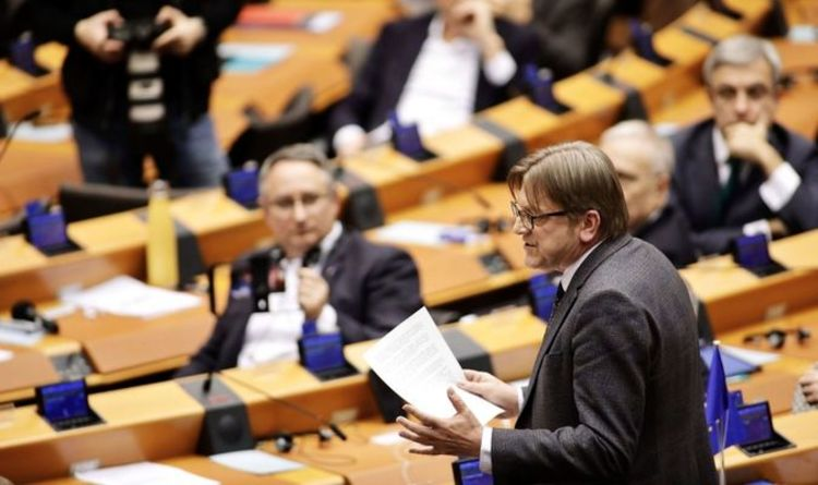 Verhofstadt attacked over 'farce of EU's democratic values' after rant against Orban