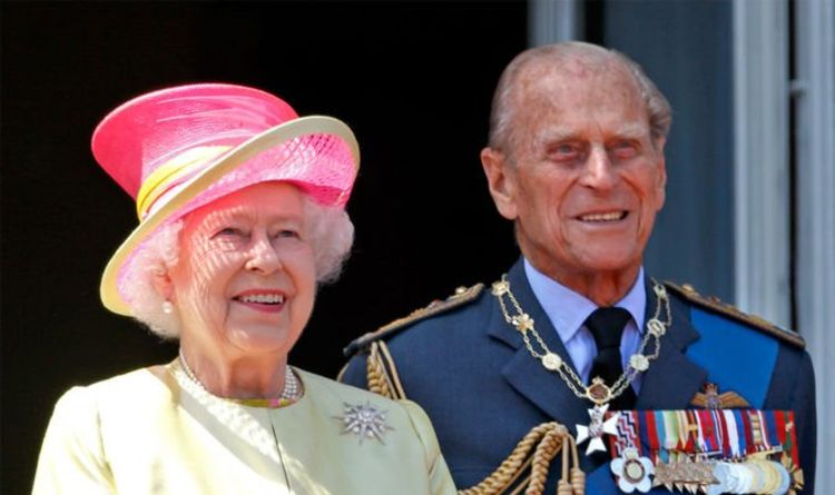 Prince Philip's death 'mocked' by duo posing with Prosecco outside palace