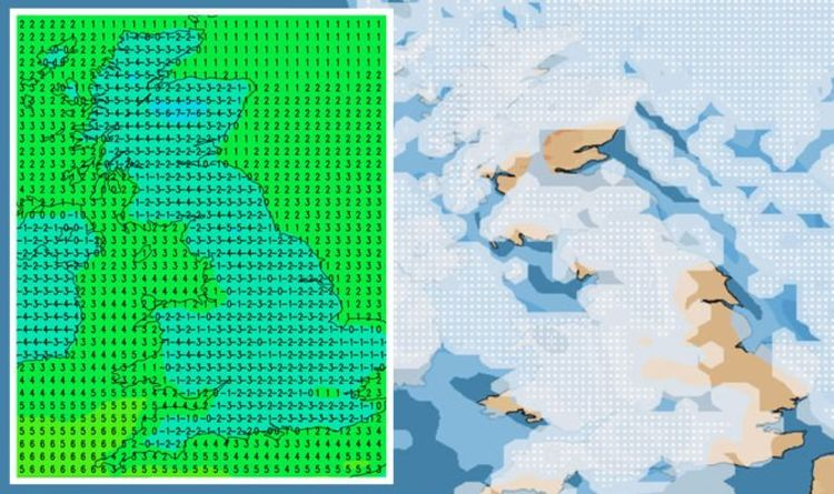Snow falls across UK: Sheffield, Essex, Herts & Suffolk hit 'How is it snowing at Easter?'