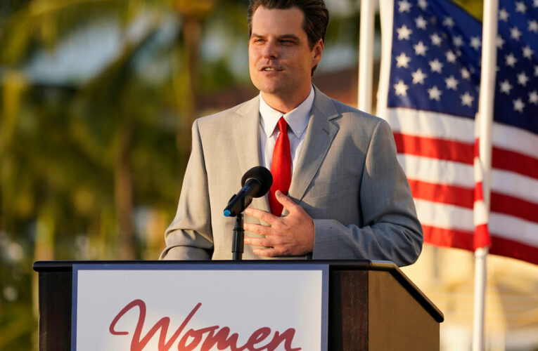Matt Gaetz Says He Is a Victim of 'the Leaks and the Lies' of Critics