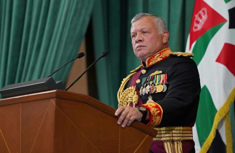Jordan's King Abdullah II doubles down on sedition claims against his brother Prince Hamzah