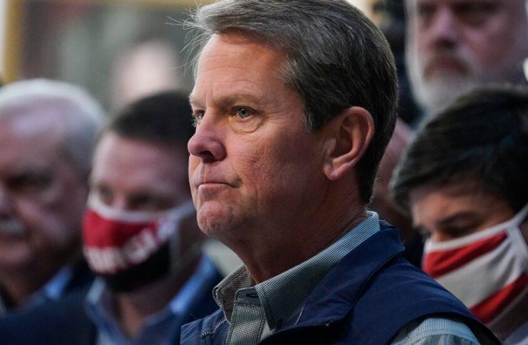 Kemp Lashes M.L.B. as Republicans Defend Georgia's Voting Law