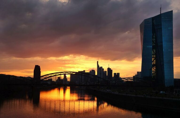 A third of euro zone corporate loans exposed to climate hazards: ECB