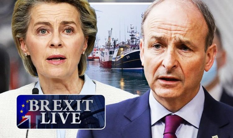 Brexit LIVE: We told you! EU set for furious fishing protest – bitter Irish attack UK deal