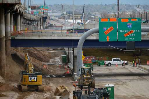Central 70 traffic shift brings new experience to Denver drivers