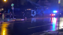 Denver police officer shot in Sunnyside late Saturday; suspect at large