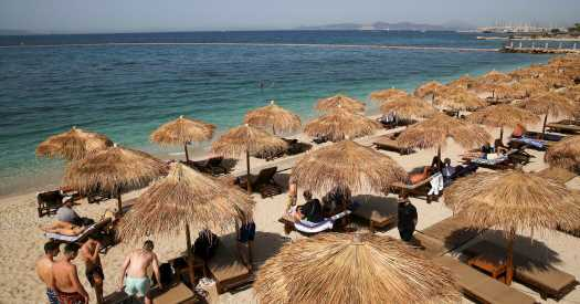 Greece, preparing to welcome more foreign visitors, steps up vaccination efforts on islands.
