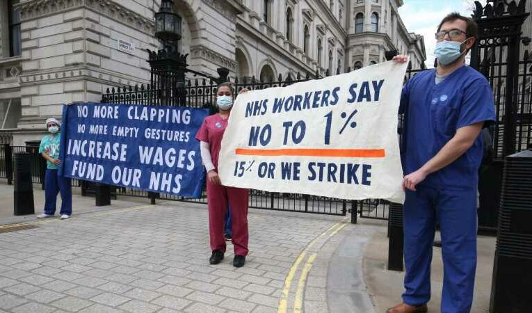 McDonnell calls for 15% pay rise for nurses and urges Starmer to be radical