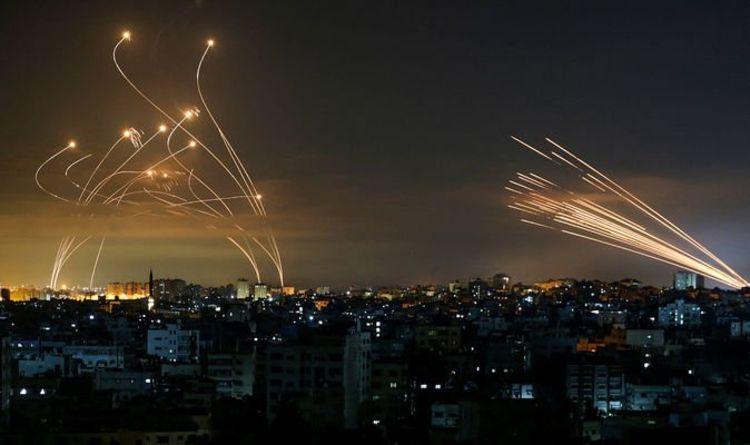 Night of terror as 200 rockets fired at Israel