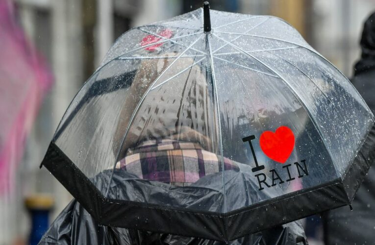 Washout May set to be wettest on record as heavens open across Britain