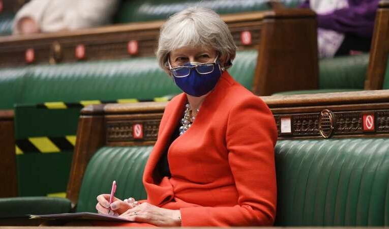 COVID-19: Theresa May tells Boris Johnson to level with the public as she slams 'incomprehensible' travel restrictions