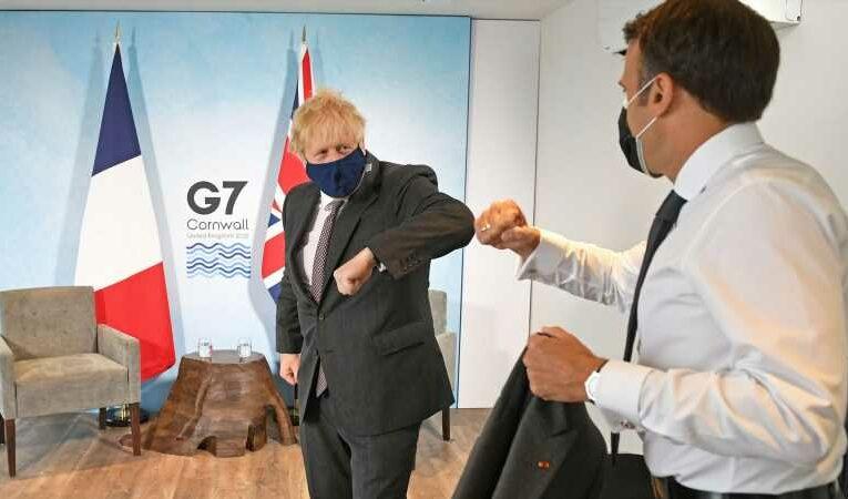 G7 summit: Boris Johnson meets with EU leaders amid Northern Ireland sausage trade row