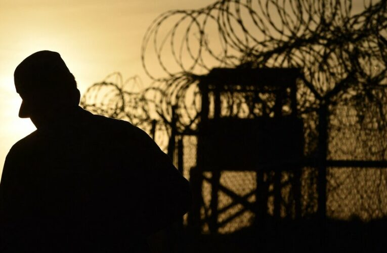 A freed Guantánamo Bay detainee is reunited with his family in Morocco.