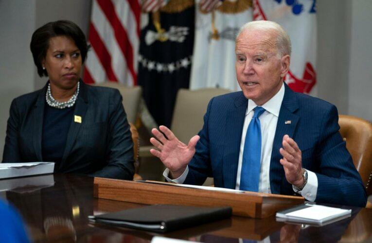 Biden balances fighting rising crime, reforming police