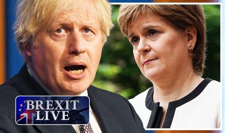 Brexit LIVE: SNP stuns Boris with sensational bid to change UK rules – EU exit vote TODAY