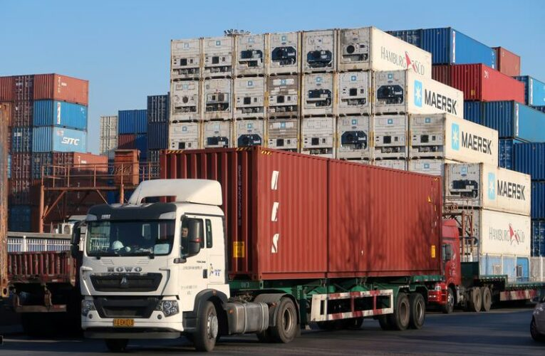 China's export growth quickens as global vaccinations, easing lockdowns lift demand