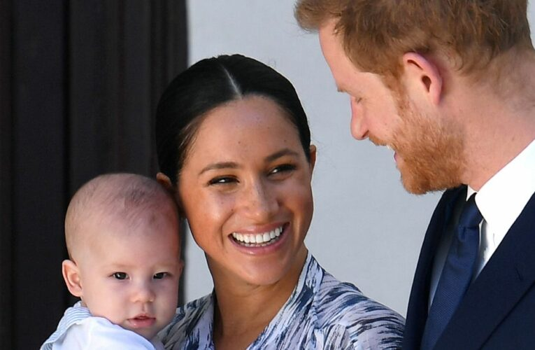 Harry and Meghan receive award for 'enlightened decision' to only have two kids