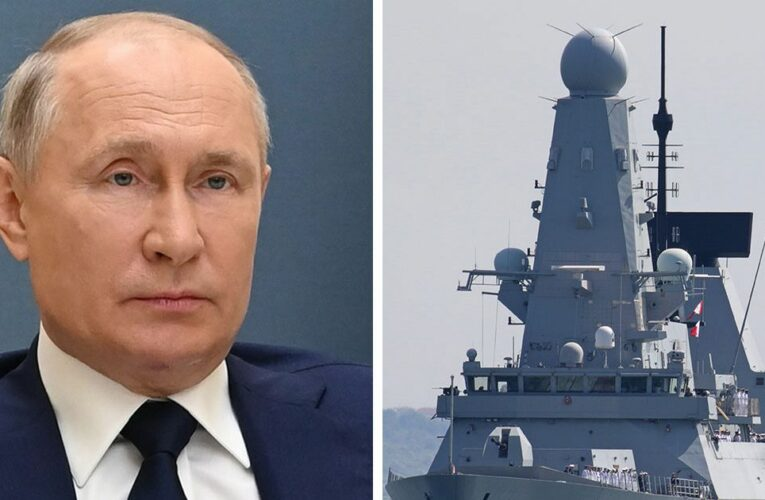 Putin 'shows how far Russia will go' after shots fired at UK ship, expert says