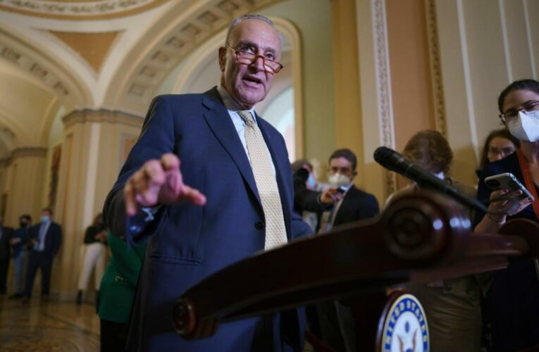 Senate ready to move forward on $1T infrastructure bill