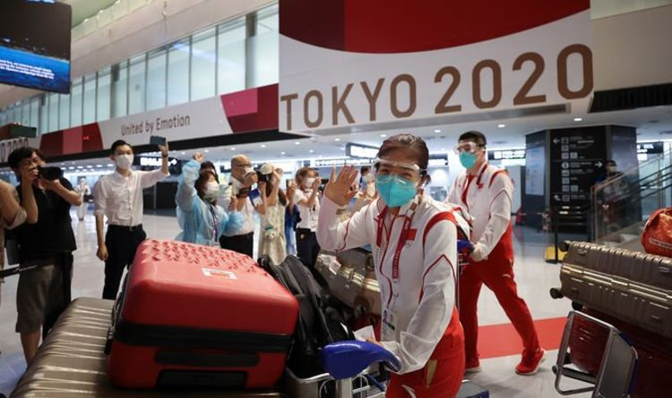 Tokyo Olympics crisis: First competitors contract COVID-19 as pressure mounts on Japan PM