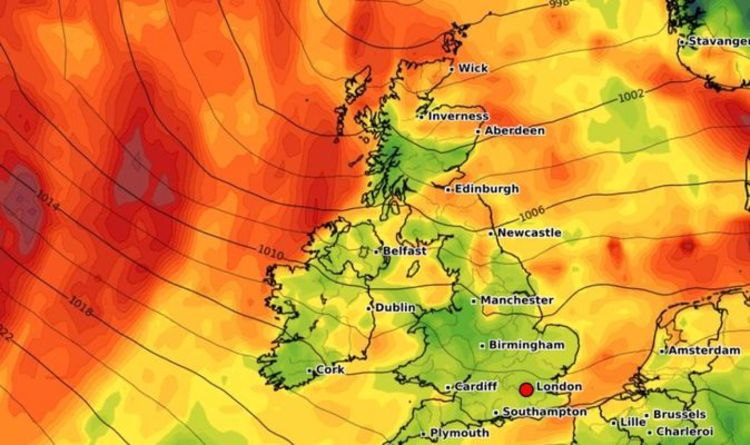 UK hot weather forecast: Heat to return as sizzling African plume heads for Britain