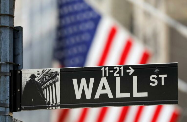 Wall Street edges lower as jobless claims unexpectedly rise