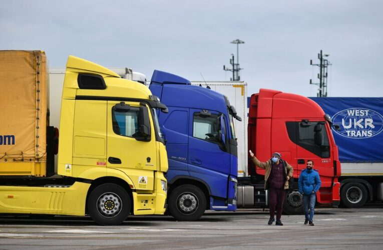 Chicken, milkshakes, candy: They're disappearing in Britain's truck driver shortage.