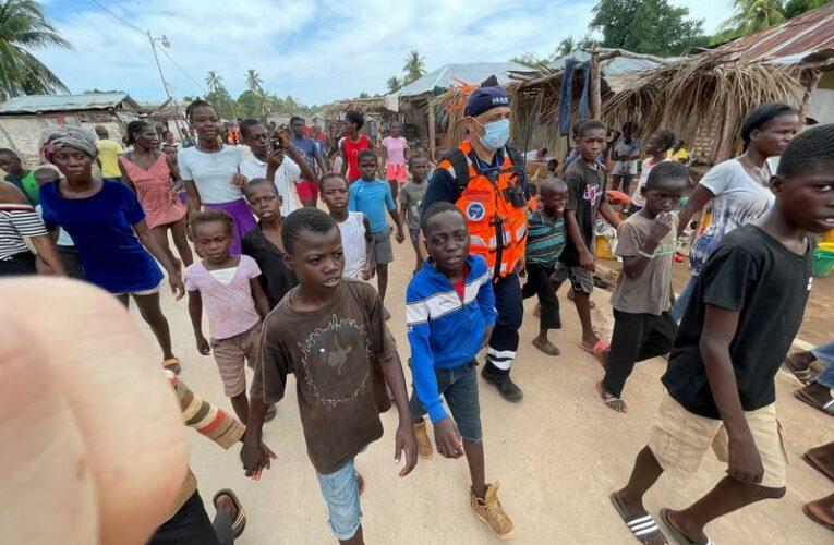 Damaged roads hinder aid reaching remote areas of Haiti quake zone