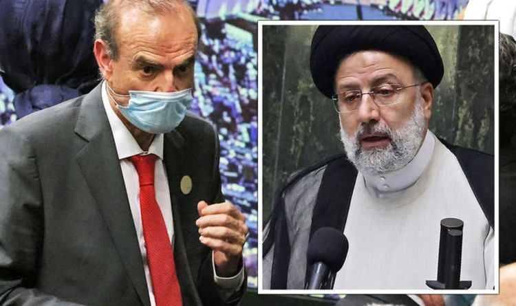 EU slammed for sending top official to inauguration of Iran's 'Butcher of Tehran'
