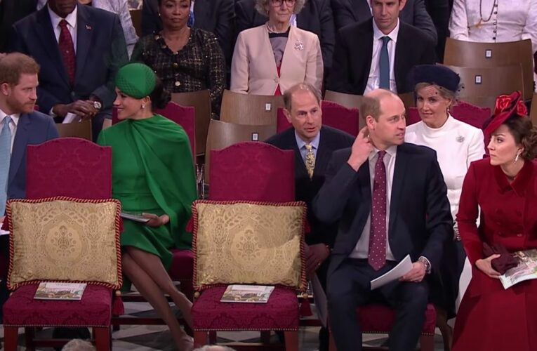 Lip reader spots Prince Harry 'criticising William and Kate' on final engagement