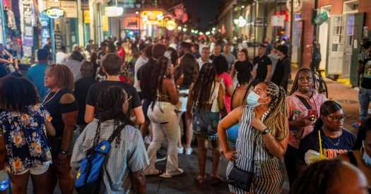 Rising Covid cases force organizers to cancel New Orleans Jazz Fest.