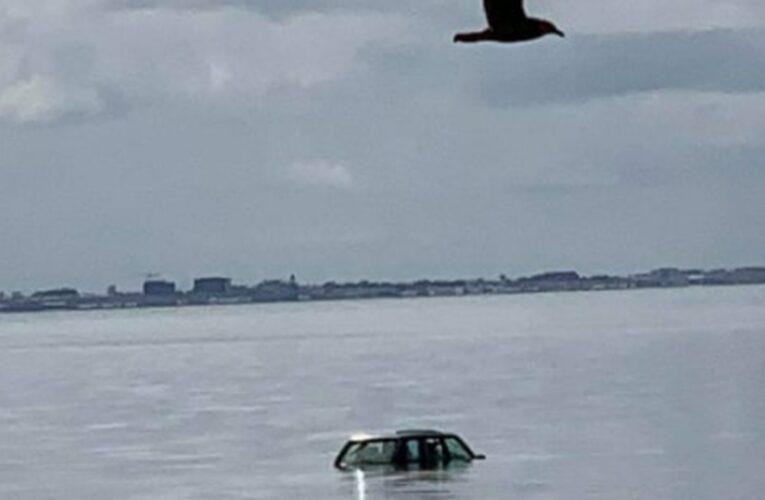 Covid 19 coronavirus Delta outbreak: Car underwater after lockdown fishing trip