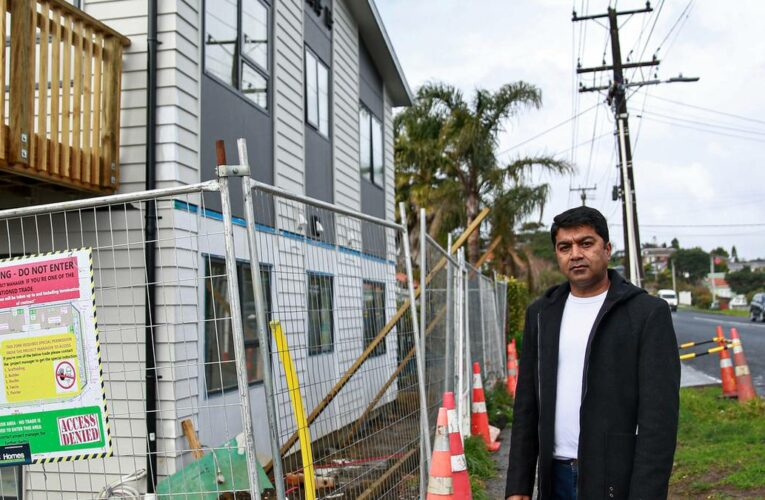 Did construction of four new Glen Eden apartments breach power line regulations?