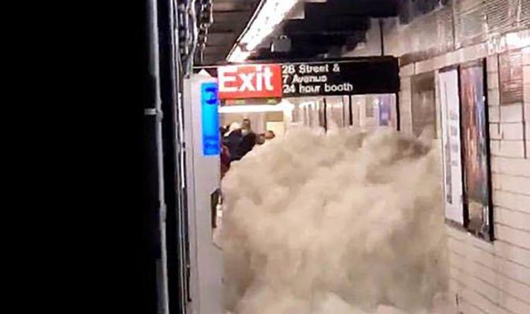Hurricane Ida kills 29 as flash floods create wall of water in US subway