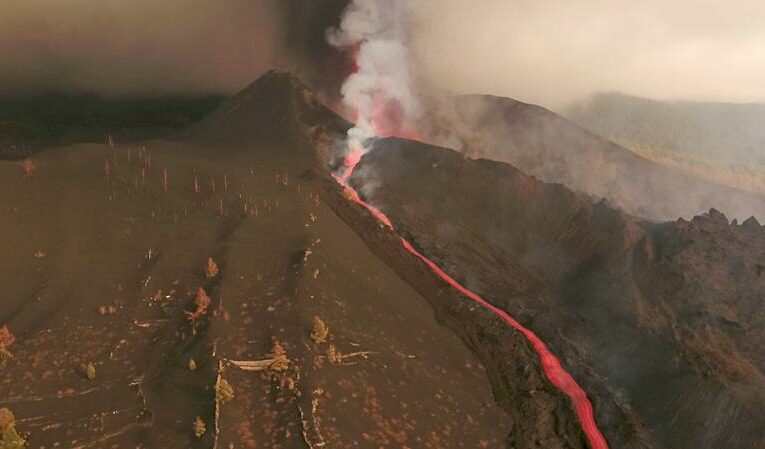La Palma's airport reopens but flights cancelled as volcano eruption continues