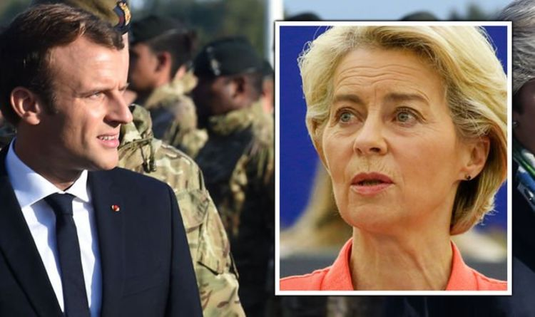 Macron to take charge of EU army plans as Von der Leyen hands French president more power