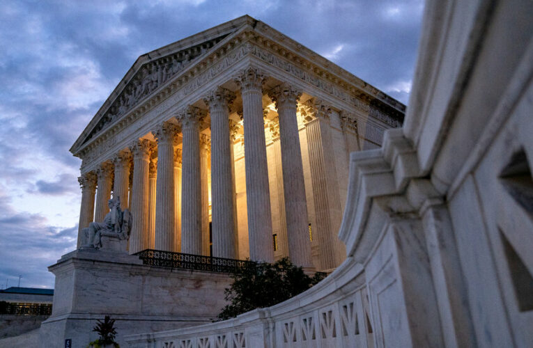 The Supreme Court will resume hearing arguments in person in October.