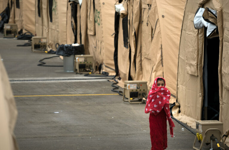 Thousands of Afghans on American military bases await resettlement.