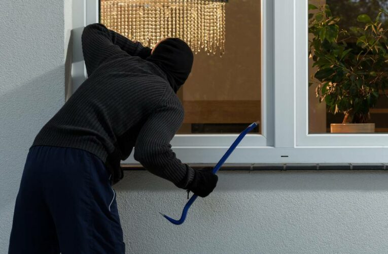 Be warned, thieves are striking – even when you are home