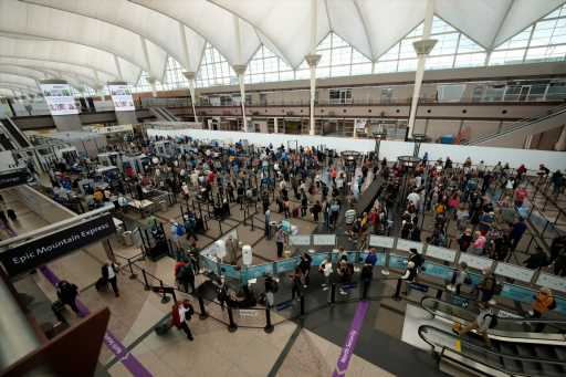 Denver International Airport warns travelers to arrive early Friday due to long security lines
