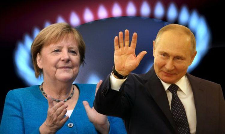Gas crisis fury as Merkel accused of PROTECTING Putin on high prices