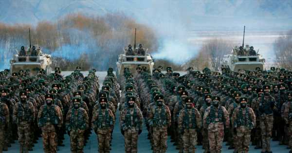 WW3 fears as China puts military on 'high alert' and issues 'Doomsday' warning